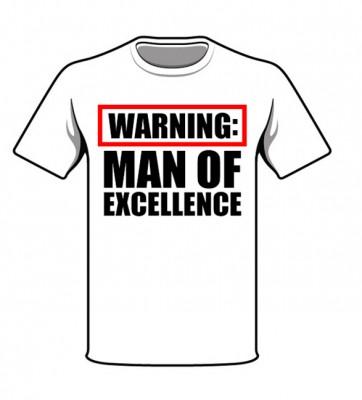 man of excellence tshirt darryl taliaferro